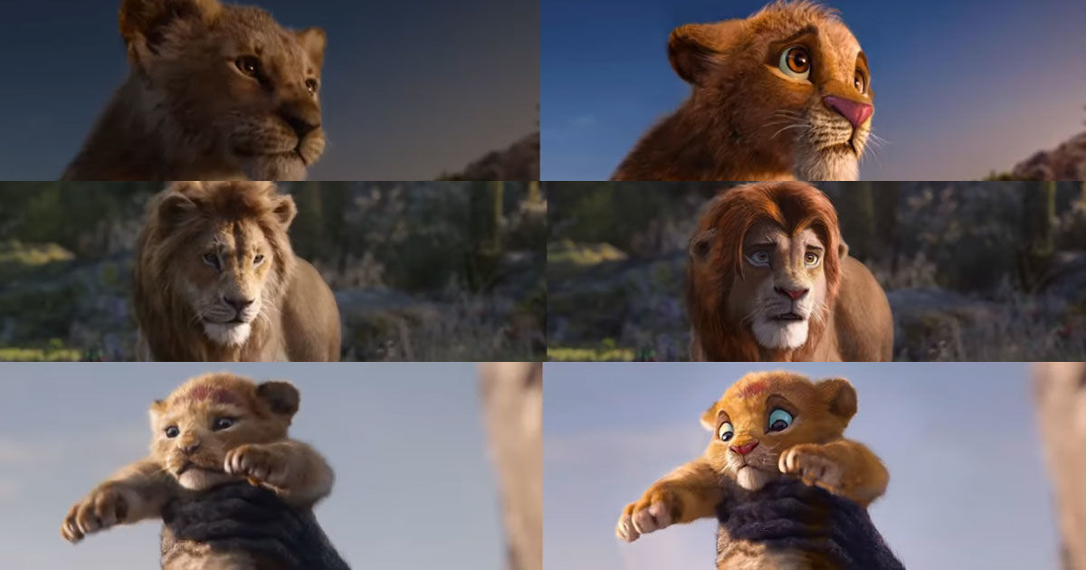 new lion king trailer 2019 cast