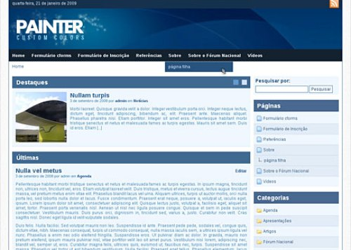 painter tema wordpress