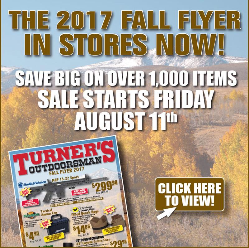 Turner\u0027s Outdoorsman Fall Flyer - BD Outdoors - fall flyer