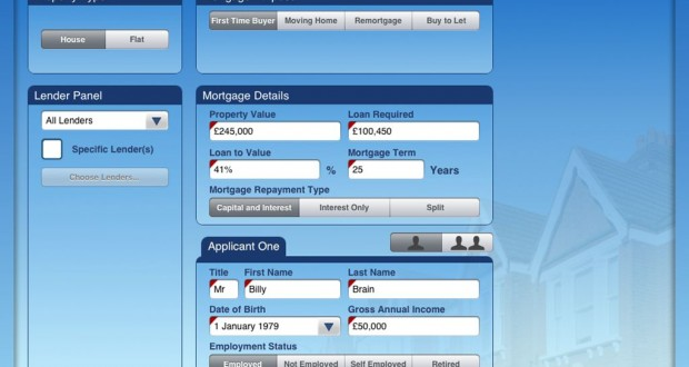 Success for Mortgage Brain\u0027s iPad sourcing app