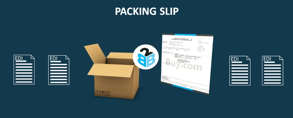 Packing Slips - EDI 850 B2BGateway - packing slip