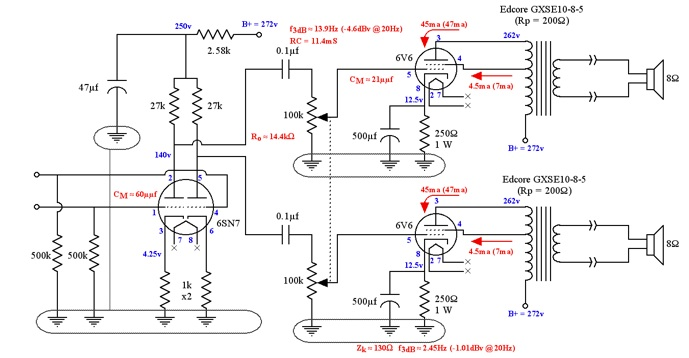 circuit schematics for line filtering