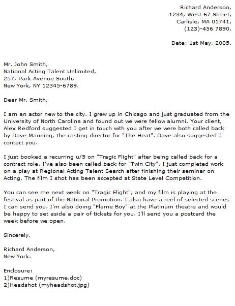 actor cover letter - Peopledavidjoel