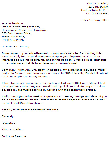 Marketing Cover Letter Public Relations Cover Letter Examples For - entry level marketing cover letter