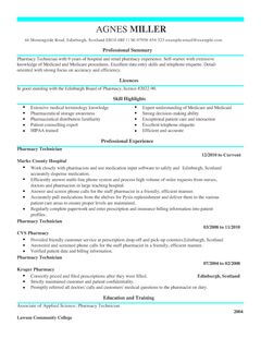 Certified Nurse Assistant Resume Example Job Pharmacy Technician Cv Example For Healthcare Livecareer