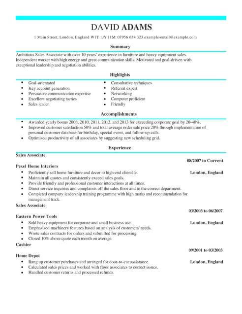Bartender Cv Template Uk | Cover Letter And Resume Samples