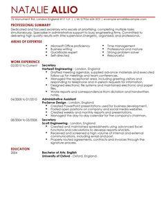 Paralegal Cv Template Uk | Sample Resume Service