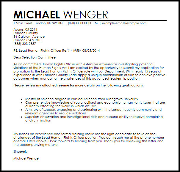 Mba Application Resume Cover Letter