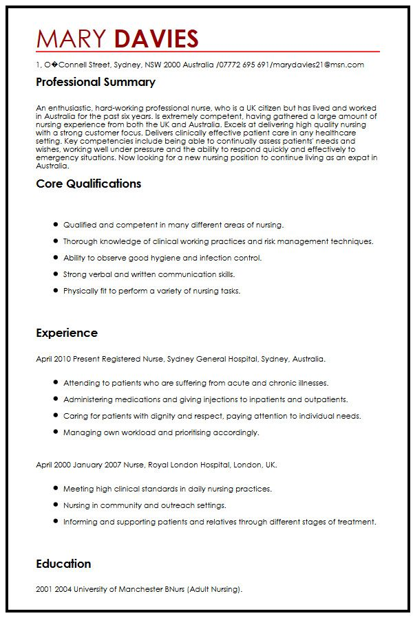 Examples Of Good And Bad Cvs University Of Kent Cv Sample For Expatscurriculum Vitae Builder