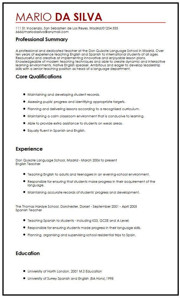 Admissions Montessori Academy Chicago Sample Cv For Teaching Position