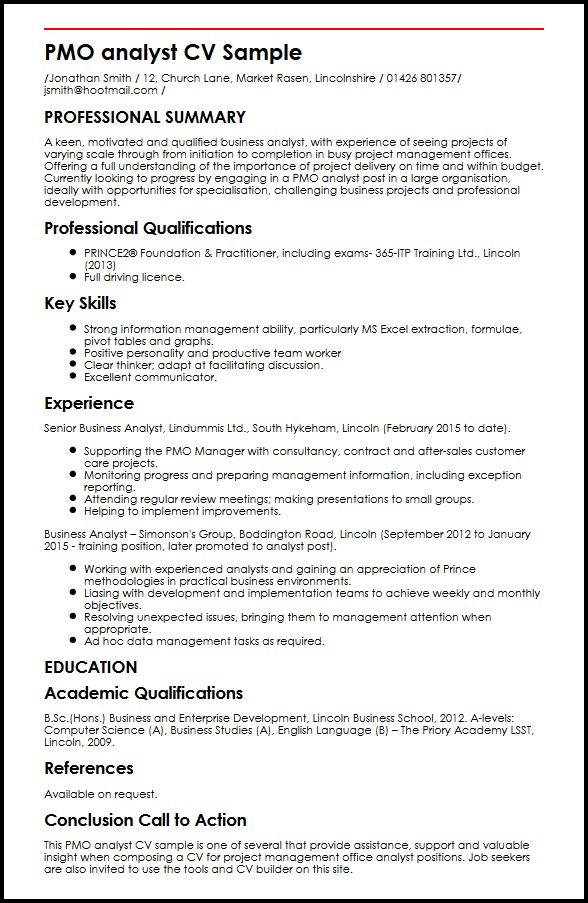 business analyst cv sample - Ozilalmanoof - Resume Examples For Business Analyst