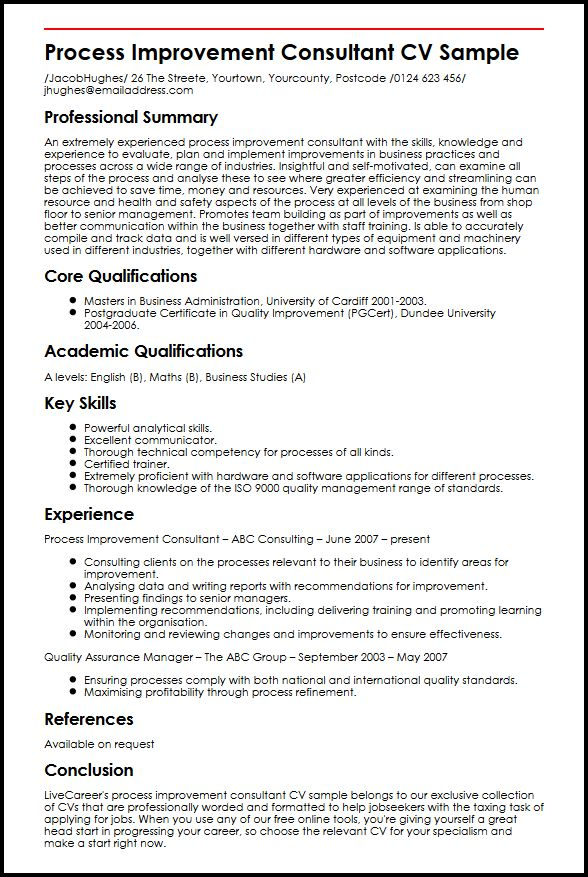 quality consultant resumes - Onwebioinnovate - air quality consultant sample resume