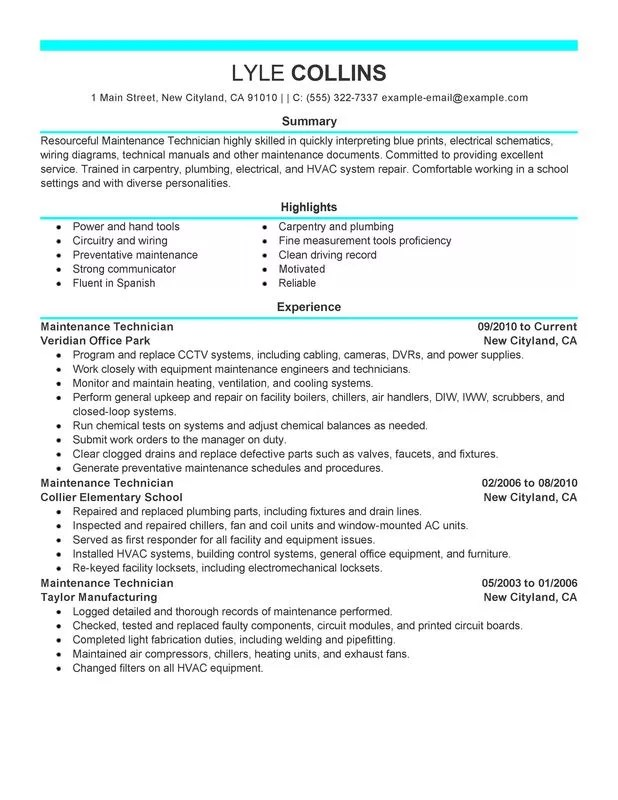 resume sample for aircraft mechanic alfa img showing gt industrial maintenance mechanic resume