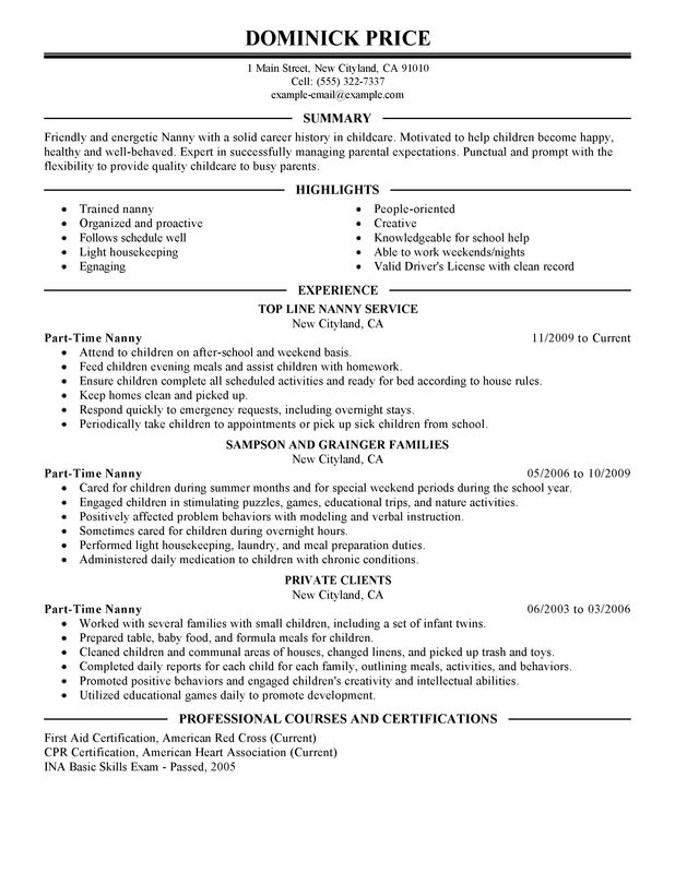 a good babysitter resume 3 free baby sitter resume samples in word hloom babysitter community service