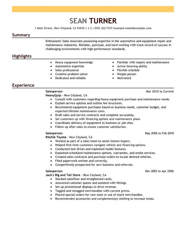 Resume Setup Examples Resume Setup Examples Resume Setup Example - impactful resume update