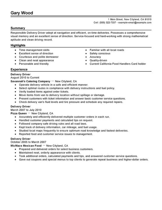 driver resume samples - Onwebioinnovate - cab driver resume