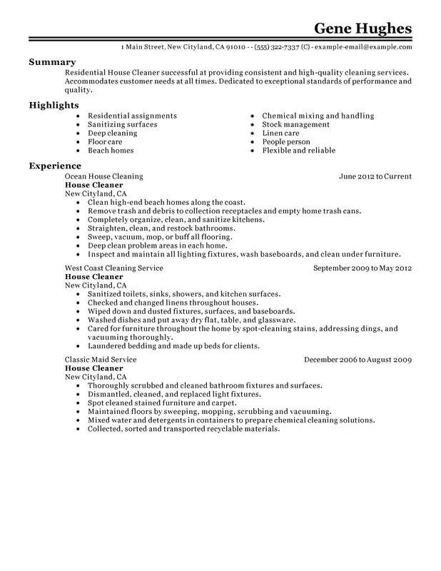 Maintenance Job Description For A Resume   Sample Customer Service ...