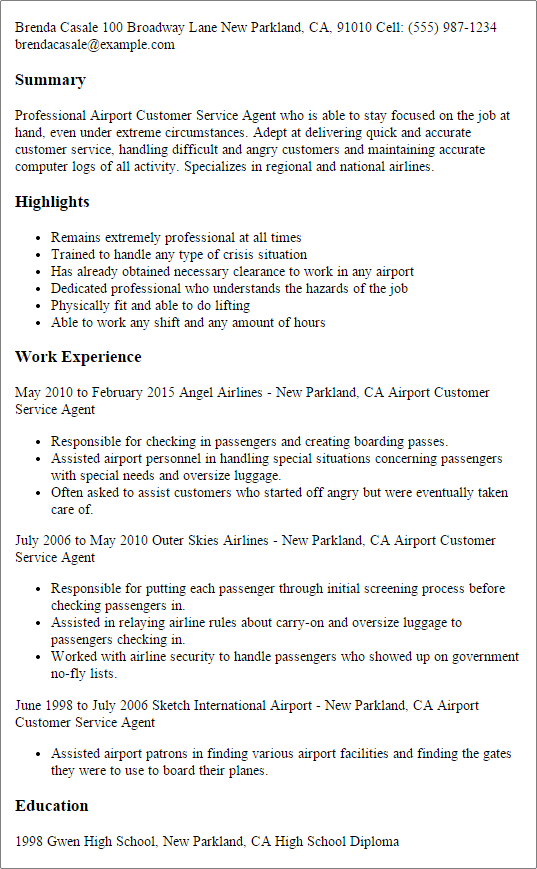 Create A Resume Upload Resume Writing Services Ground Service Agent Resume