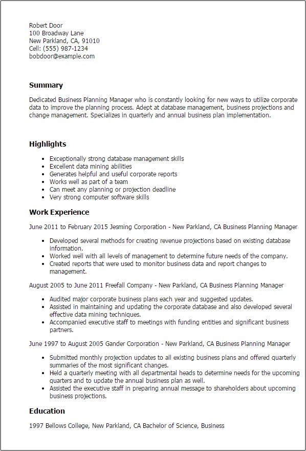 Perfect Resume Example 2015 How Much Do Resume Gaps Matter Ask A Manager Professional Business Planning Manager Templates To