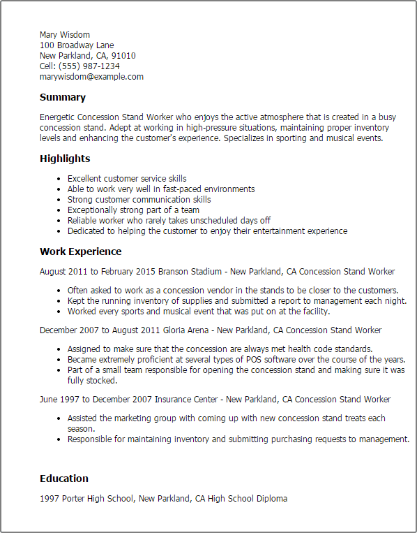 worker resume resume format download pdf cafeteria worker resume cafeteria worker resume sample