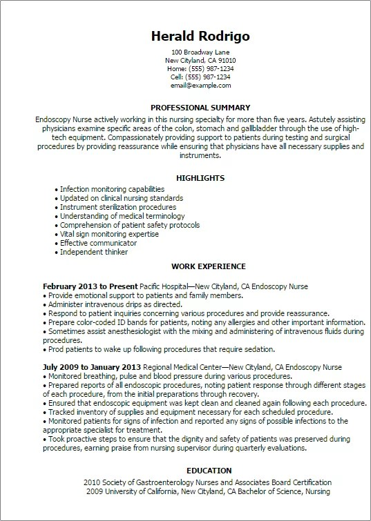 Sample Resume For Nurses With Job Description  nurse resume     Resume Job Description Nurse Download     Free Resume Templates And Win The Job  Resume Sales Associate