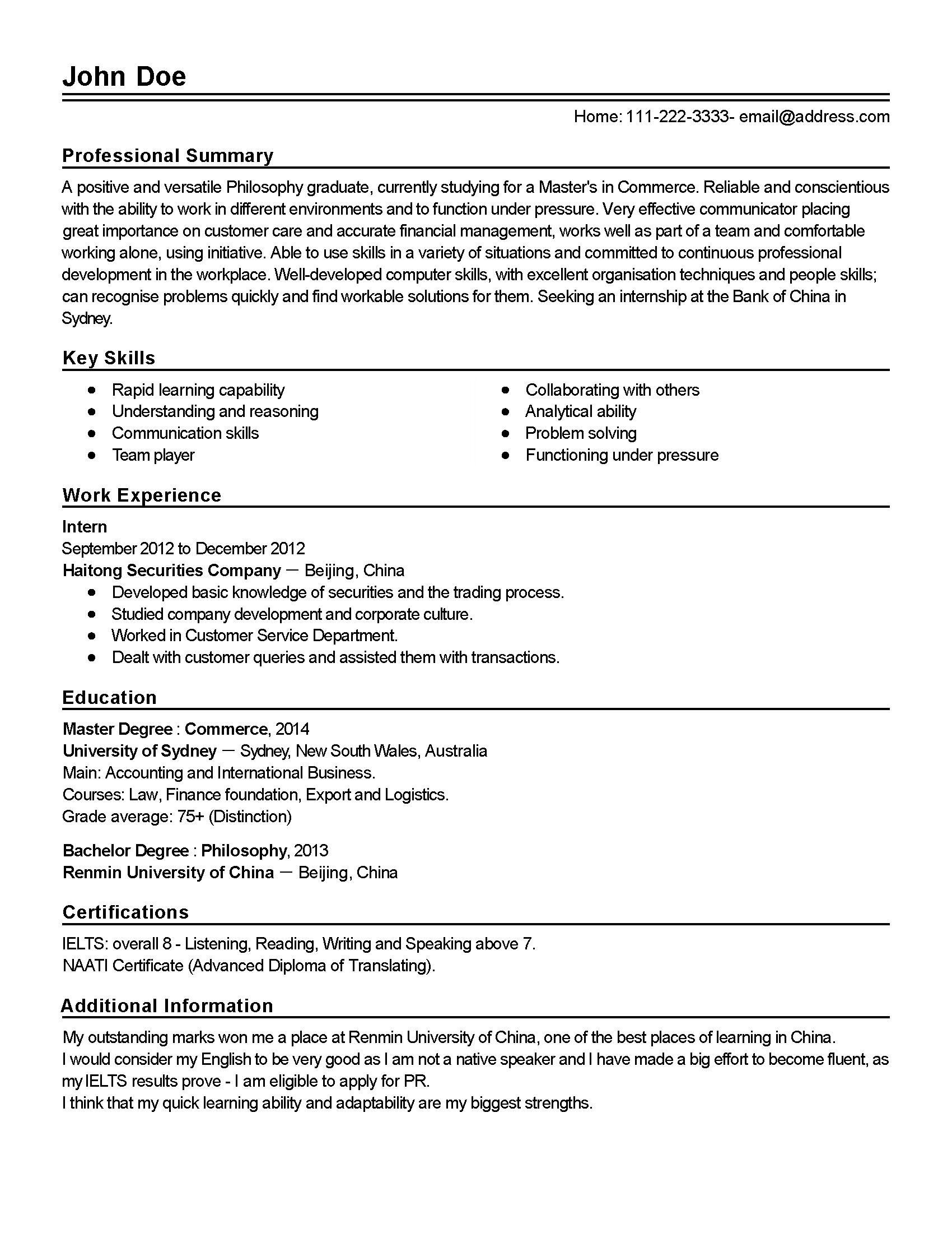 Resume Builder Read Write Think Resume Ideas