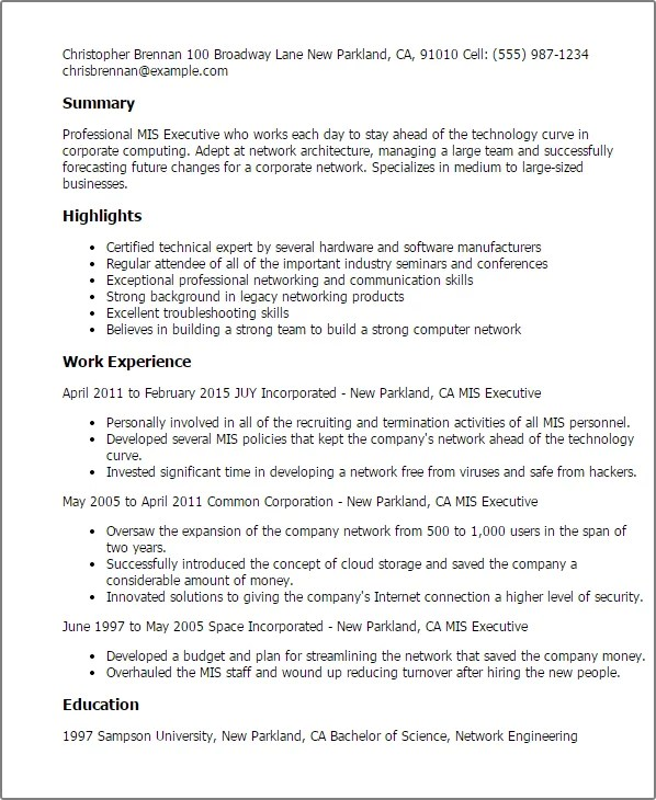 statistician resume