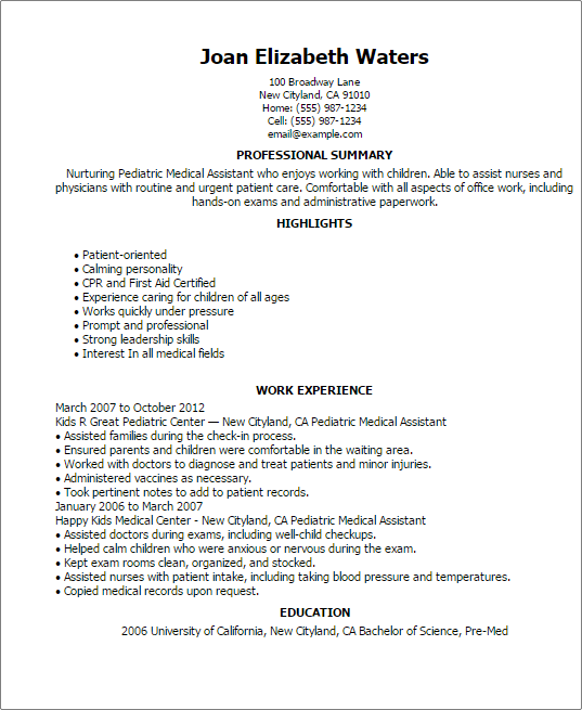 school library assistant resume