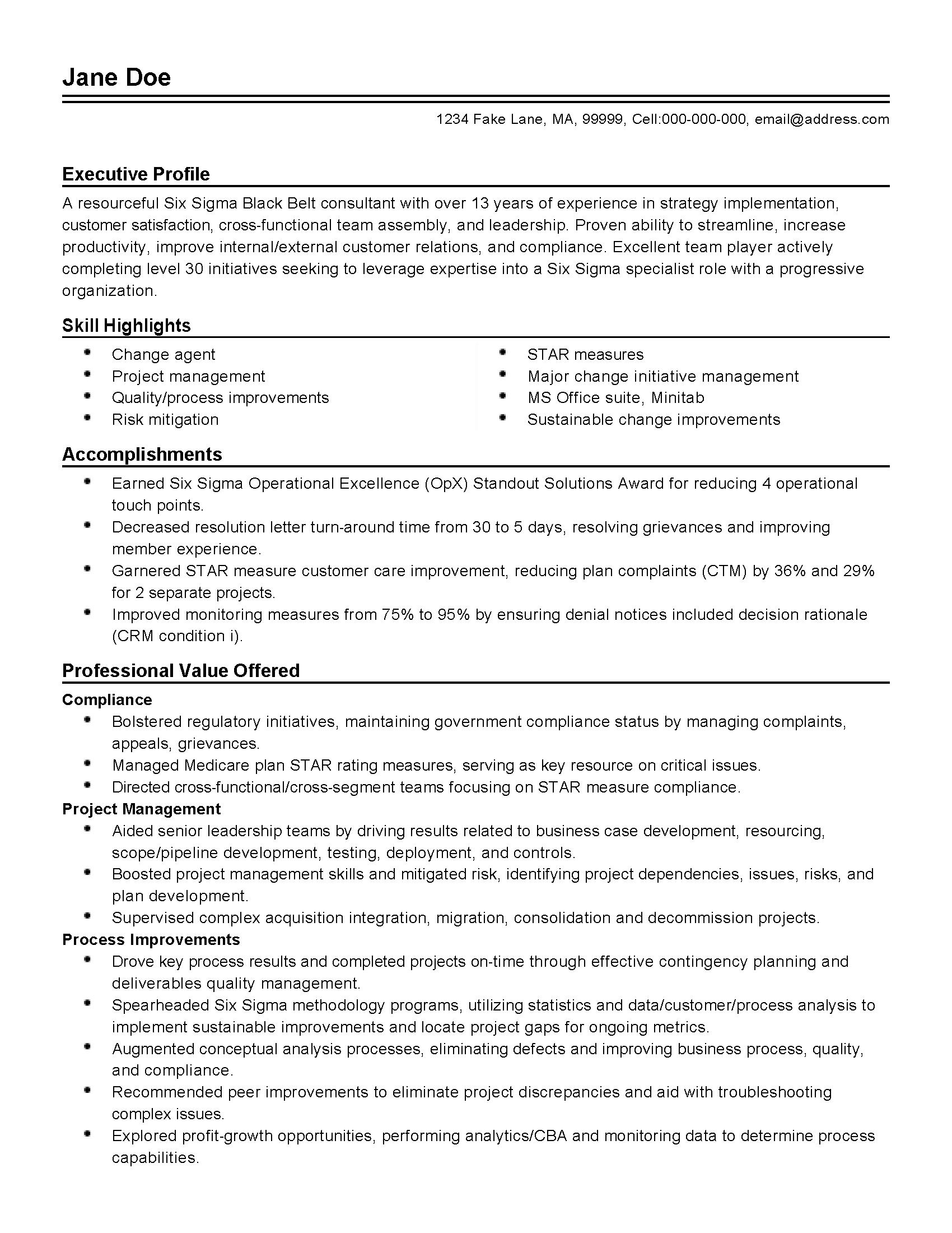 resume writing services phoenix
