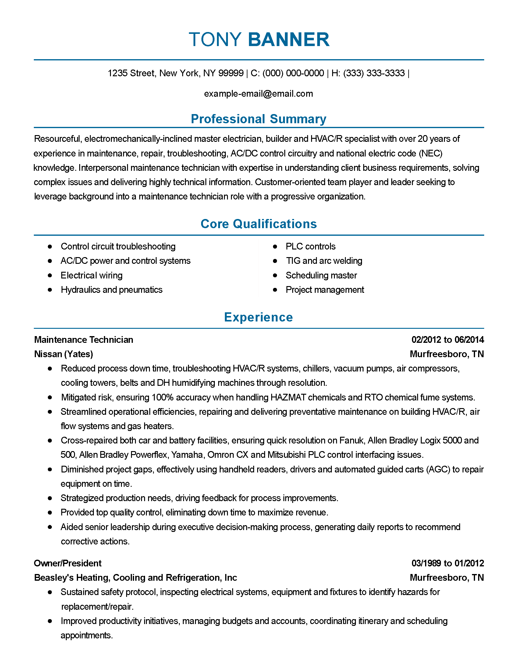 electrical foreman resume electrical foreman resume samples resume