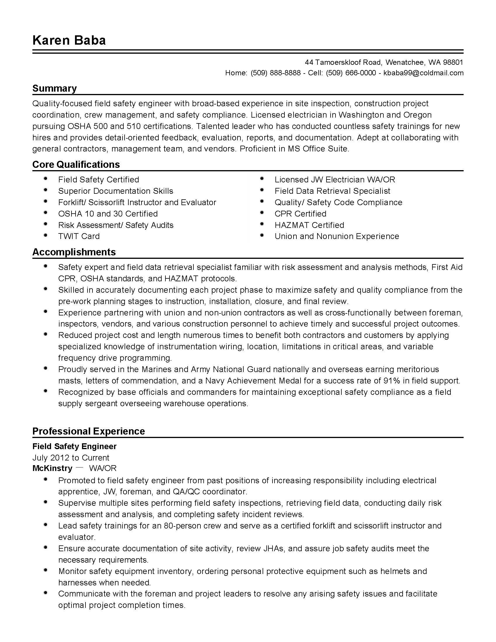 safety specialist resume safety specialist resume makemoney alex tk