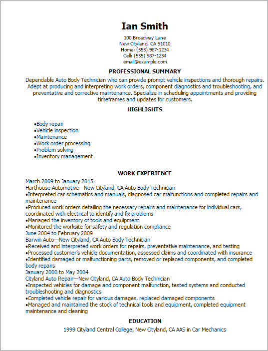 auto tech resume template 100 maintenance mechanic resume apartment maintenance