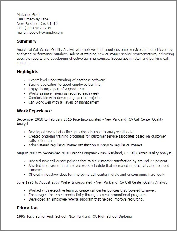 Professional Report Cover Letter Free Resume Making Template Fast  Call Center Job Resume