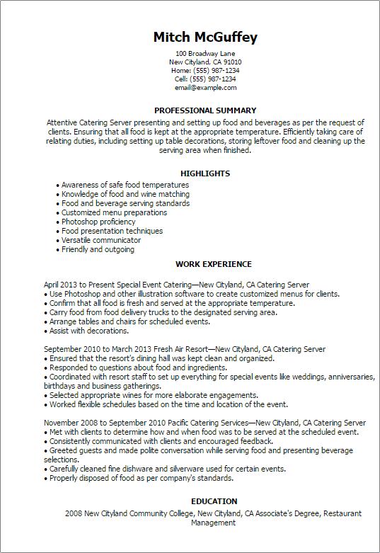 resume sample for server sample food server resume exampl zngxi limdns org professional resume builders resume - Server Resumes Samples
