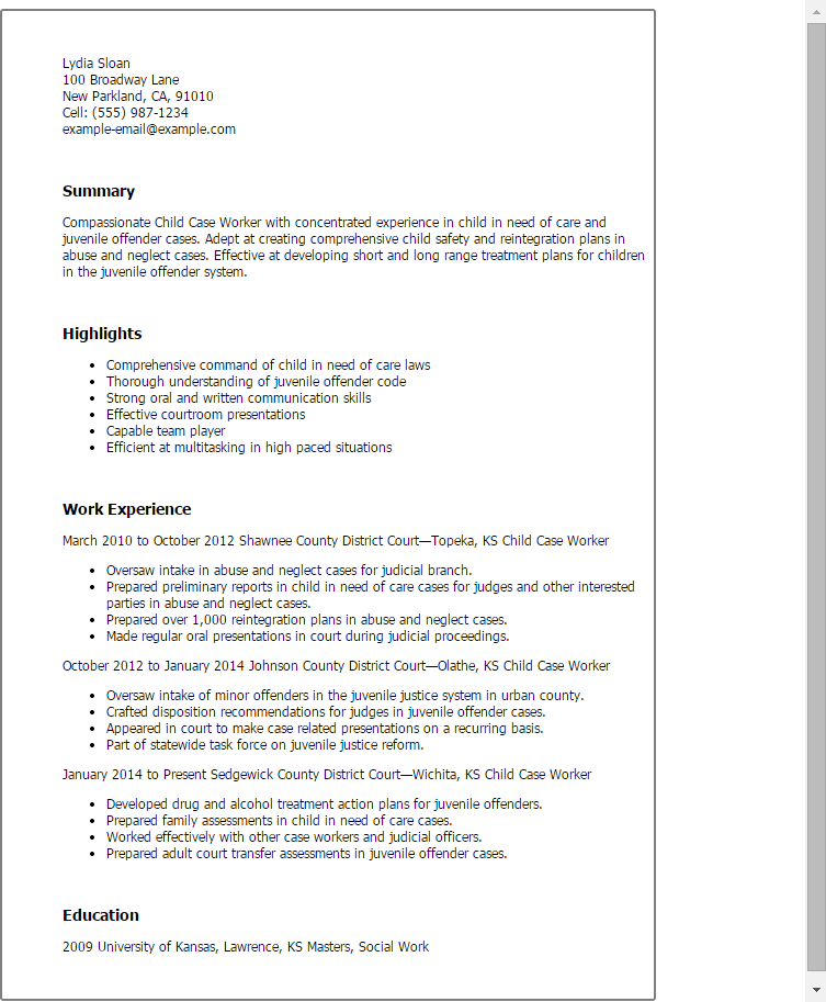 Sample Resume For Office Worker Professional resumes example online
