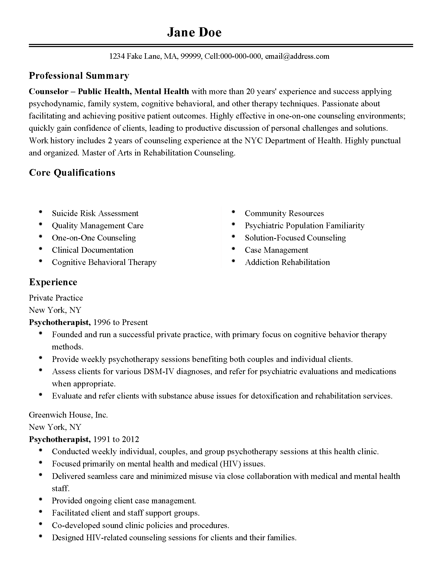 addictions worker sample resume mind coding specialist cover