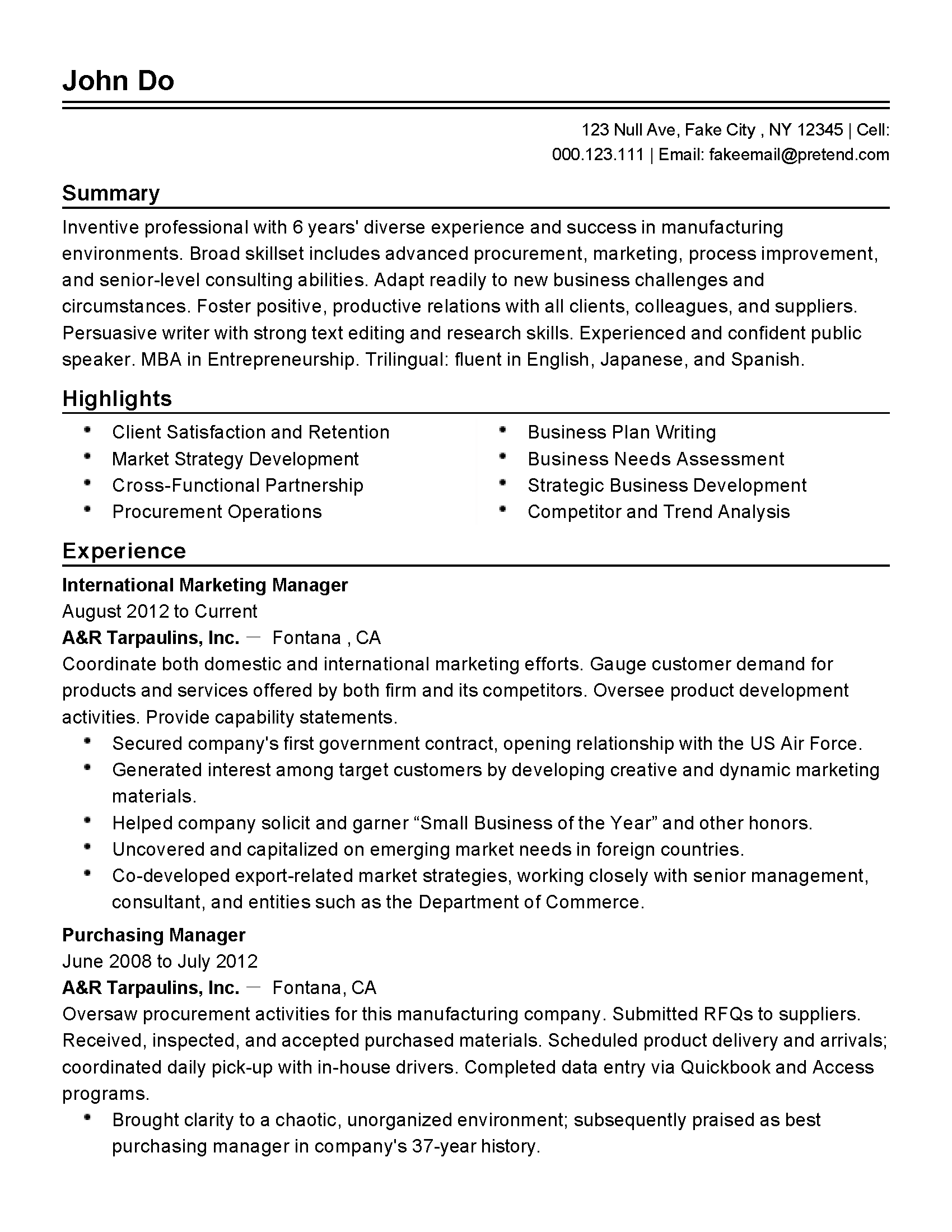 100 Spanish Resume Template Office Manager And Office