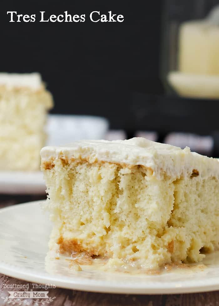 Tres Leches Cake Recipe Using White Cake Mix
