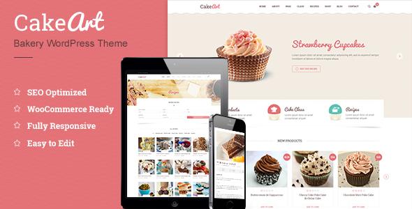 Cake WordPress Theme - Cake Art - ThimPress Premium Themes