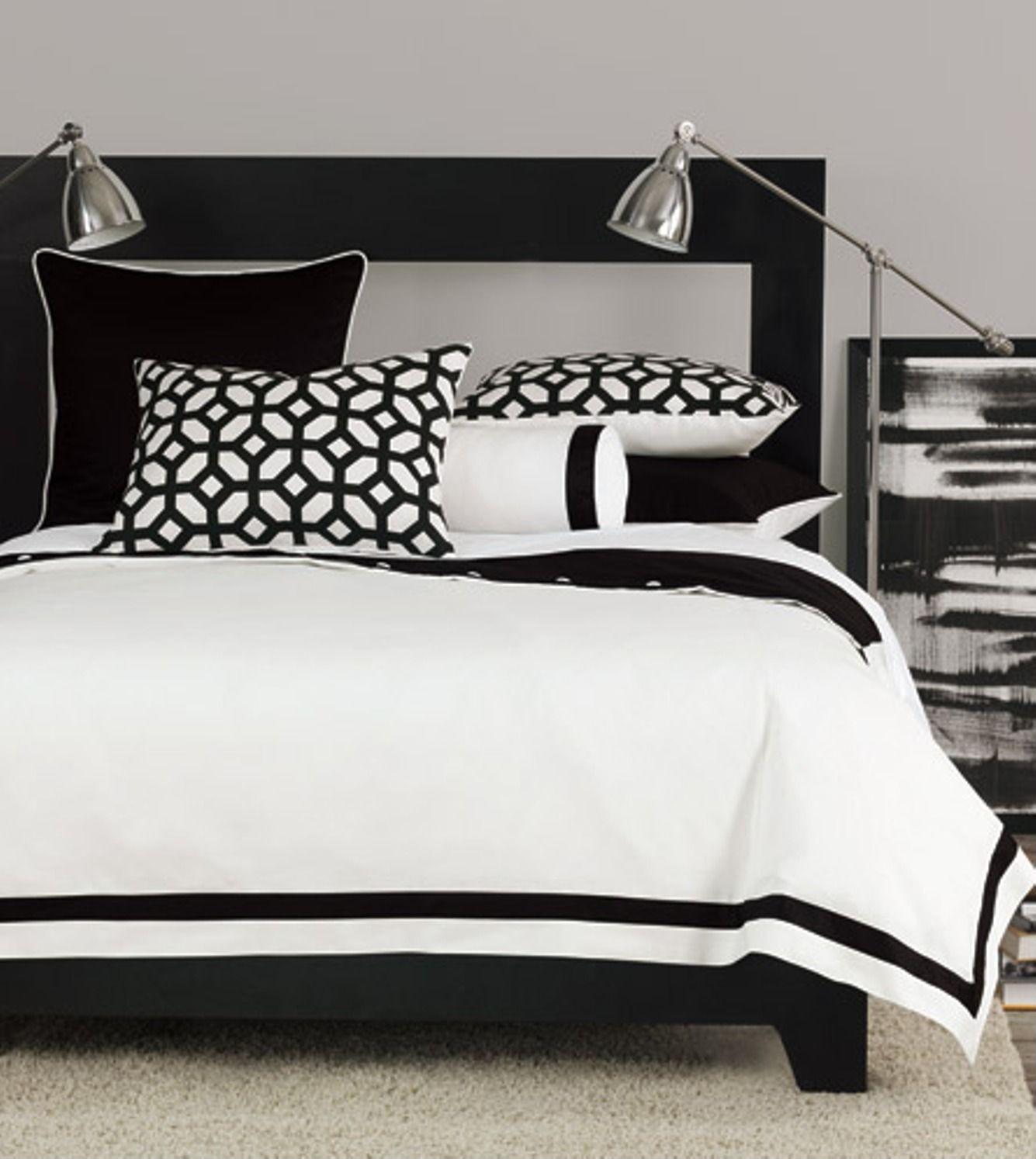 Get this look black white chic zillow porchlight