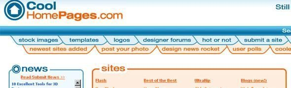 Cool-Homepages