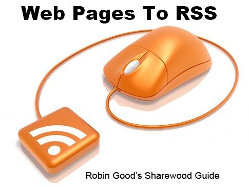 web pages to rss