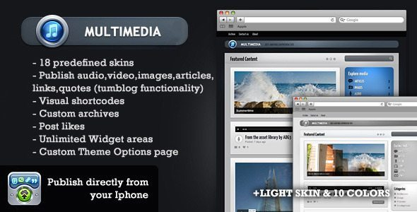 MultimediaWP-WordPress-Tumblog-theme