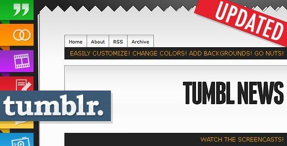 Tumbl News Tumblr Theme Template