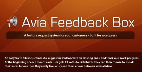 Avia Feedback Box