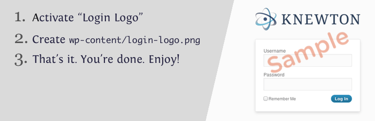 Login Logo WordPress Plugin