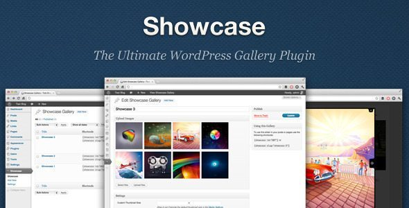 Showcase - WordPress Gallery Plugin