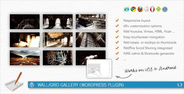 Wall/Grid Gallery – Premium WordPress Gallery Plugin