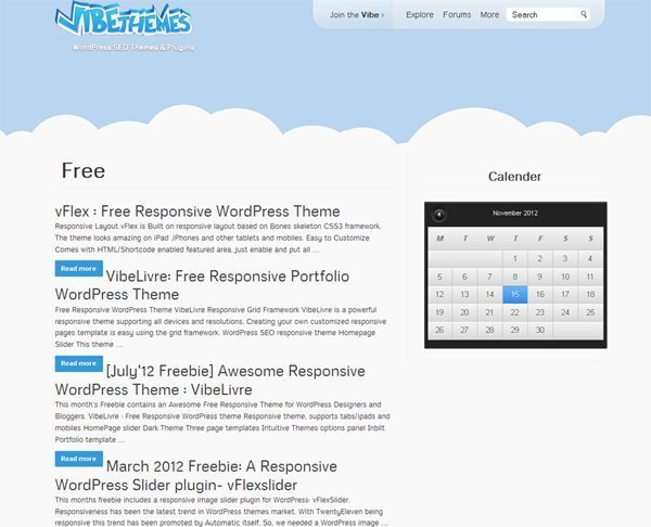 Vbe Free WordPress Themes