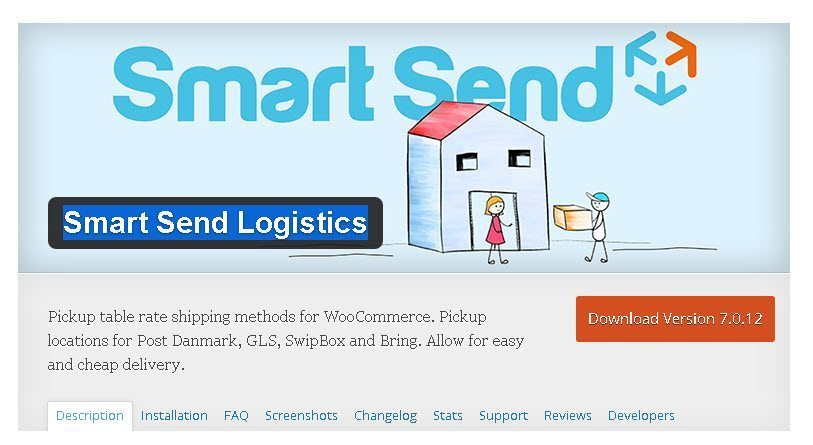 Smart Send Logistics WordPress Plugin